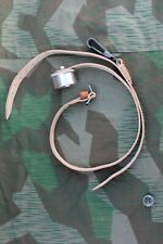 German WW2 .75 Liter Canteen Strap Brown Complete Reproduction