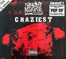 Naughty By Nature ‎CD Single Craziest - Limited Edition, Digipak - France