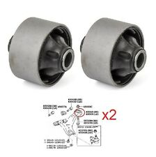 x2 FRONT LOWER SUSPENSION WISHBONE ARM REAR BUSH BUSHES FOR TOYOTA CAMRY 2001-06