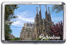 Barcelona Famous City Fridge Magnet Collectable Design Spain La Sagrada Familia