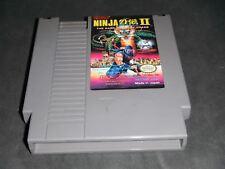 Ninja Gaiden 2 II Dark Sword of Chaos (Nintendo/NES)
