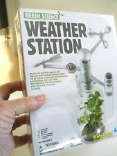 NEW GREEN SCIENCE Project WEATHER STATION 4M KIDZ LAB Toy Age 8+ Experiment box
