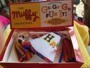 "MUFFY BEAR COLLECTION ""CHEERLEADING"" GO FUR IT!  NEW"
