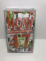 Now Thats What I Call Music 47 Double Cassette Tapes. Original Now 47.
