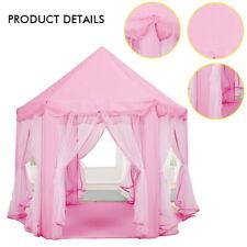Children Kids Play Tent Fairy Princess Girls Boys Hexagon Playhouse House AU