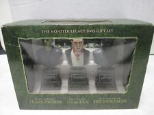 The Movie Legacy DVD Gift Set Frankenstein, Dracula, and the Wolfman