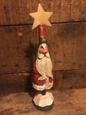 Vintage 1989 House of Hatten Santa Claus Figurine Star Denise Calla