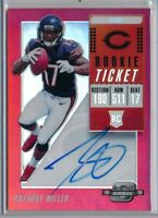 ANTHONY MILLER - 2018 Contenders Optic RED Rookie TICKET AUTO /199 - Bears RC