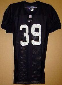 ATLANTA FALCONS  #39 STEVEN JACKSON Black NFL PRACTICE Reebok Size 44 JERSEY