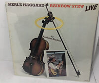MERLE HAGGARD- RAINBOW STEW LIVE LP RECORD NEW, FACTORY SEALED!!  Country