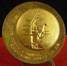 Large Médaille par Bouyon Medal 铜牌.