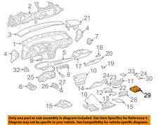Chevrolet GM OEM 2003 Malibu Instrument Panel Dash-Control Module 22705854