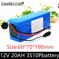 12V 20000mAh Rechargeable Protable Li-ion Lithium Batterie without Charger