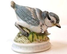 Porcelain Blue Jay Lefton 687 Figurine Bird