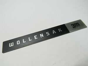 WOLLENSAK Name Plate for T-1500 Tape Player