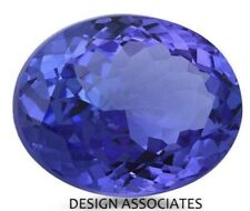 MAN MADE TANZANITE 20 x 15 MM OVAL CUT BEAUTIFUL BLUE COLOR