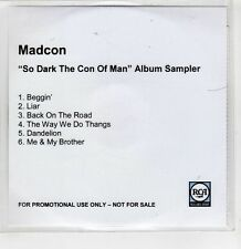 (GI221) Madcon, So Dark The Con Of Man sampler - DJ CD