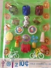 Old Folz Vending Monster Ring Dexterity Mechanical Charm Spider Toy Lucky Tooth