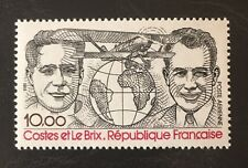 France 1981 C54 Costes And Le Brix Airplane Breguet Bi-plane MNH