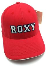 ROXY red fitted cap / hat : Size M / Medium
