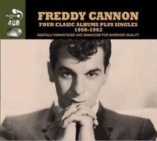 Freddy Cannon Four Classic Albums Plus Singles 1958-1962 4cd Rgmcd183