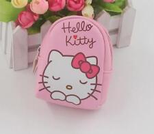 Kawaii Hello Kitty Mini Backpack Coin Purse Portable KeyRing Key Chains Gift
