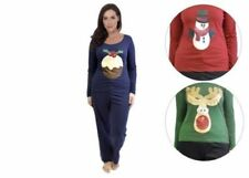 Pijamas y batas de mujer conjuntos de color principal rojo