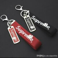 Supreme 2 Keychains bundle  ( Red And Black) brand new
