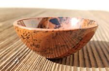 NATURAL MAHOGANY OBSIDIAN STONE HANDCARVED GEMSTONE BOWL [12]