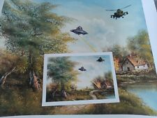 Mason Storm - UFO, No, you F O-Theft From Above Large Print & Mini Print Banksy