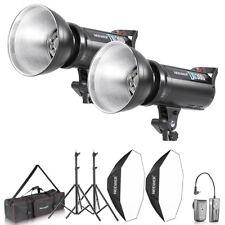 Neewer 600W Studio Monolight Strobe Flash Lighting Kit with Octagonal Softbox