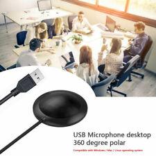 USB Kondensator Mikrofon Omnidirektional  360° Pickup Mic Konferenzmikrofon
