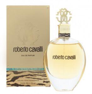ROBERTO CAVALLI EAU DE PARFUM EDP 75ML SPRAY - WOMEN'S FOR HER. NEW