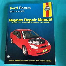 Haynes Repair Manual Ford Focus 2000 Thru 2005 CAR Teardown Rebuild Book 36034
