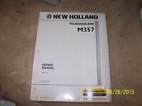 NEW NH New Holland M357 Telehandler Service Shop Repair Manual