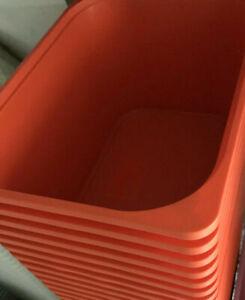 IKEA TROFAST BOX,orange,42x30x23cm Boxen Aufbewahrung Kisten Spielzeug NEU