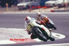 Jarno Saarinen Yamaha YZR 500 Winner French Grand Prix 1973 Photograph 1