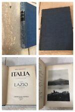 1928 - LUIGI PARPAGLIOLO - ITALIA - I VOLUME LAZIO