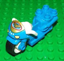 LEGO - Duplo Vehicle - Wonder Woman Motorcycle - Light Blue