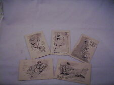 Vintage Birthday post cards unused  postage 1 cent  #38