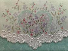 Carol Wilson Arts Stationery 10 Blank Note Cards Envelopes Floral Heart