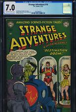 STRANGE ADVENTURES #14 - CGC-7.0, OW-W - DC - Captain Comet