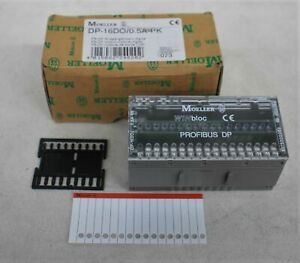 MOELLER WINbloc Profibius DP DP-16DO/0.5A-PK Digital Output Module NEW