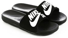 Nike SB Benassi SolarSoft Slides Sandal Black White Sz Mens 7 40067-001 slide