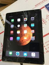 Apple iPad 2 16GB, Wi-Fi + 3G (Verizon), 9.7in Black Crcked Working