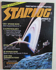 Starlog Magazine #5 - May 1977 - Star Trek - Space 1999, UFO Episode Guide