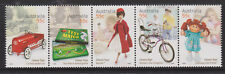 2009 Classic Toy Stamps Australia MNH Barbie Pedal Car Cabbage Patch Dragstar
