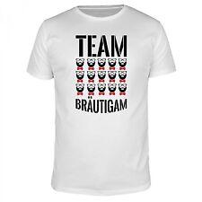 Team Bräutigam Fliege - Bart Brille Hochzeit JGA Hipster Vollbart Hipster Crew