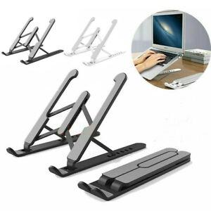 Portable Tablet Laptop Stand Holder Desk Riser Adjustable for Notebook Desk