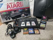 Atari 2600 4 Switch Vader Console Bundle + 16 games Rare Long Box variant VCS